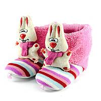 Тапочки комнатные детские Home Story 16505 розовый