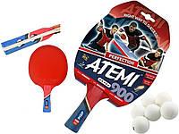 Ракетка для настольного тенниса теннисная ATEMI 900