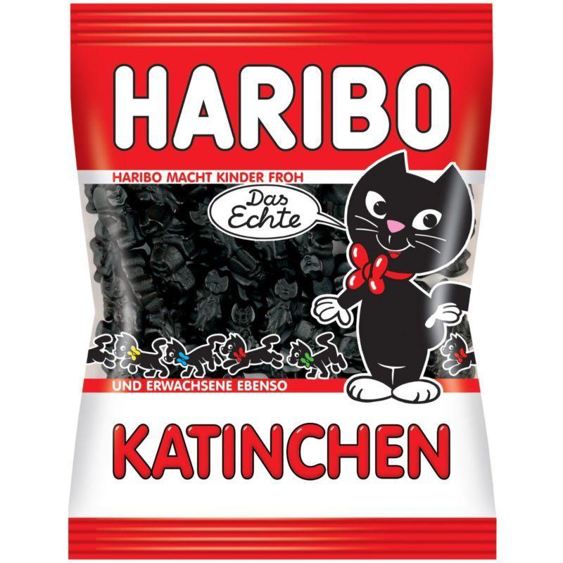 Жевательные конфеты Haribo Katinchen 200г