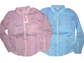 Рубашка нарядная для девочек Glo-story, размеры 134,140,146,152 арт. GCS-4144