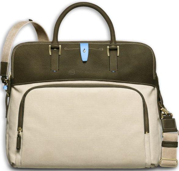 Мужской кожаный портфель Piquadro Modus, CA3012IT2_M бежевый
