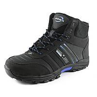 Ботинки зимние  мужские Bona 32860L -6 черный нубук