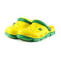 Сабо мужские Jose Amorales 116113 желто-зеленый