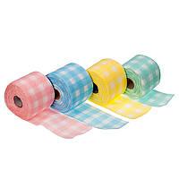 Полотенце в рулоне цветные, 100 шт