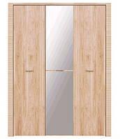 Шкаф Рафло SZF 3D 22 17 с зеркалом БРВ  2050х1660х655мм