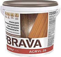 Краска BRAVA ACRYL 39 для древесноволокнистых плит методом глубокой печати (ВД-АК-2039)