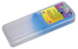 Пенал пластиковий із застібкою (синій тримач), 8011