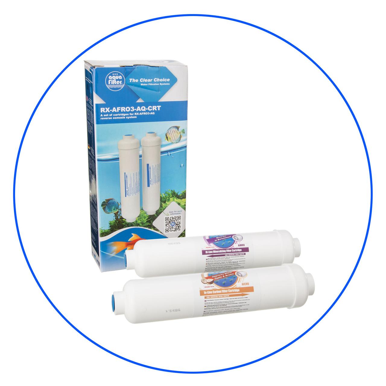 Комплект картриджів для акваріума Aquafilter RX-AFRO3-CRT