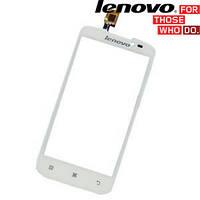 Сенсорный экран (touchscreen) для Lenovo A378t, белый, оригинал