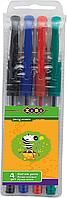 Набір гелевих ручок Zibi 4шт., 0,7 мм., асорті (ZB.2202-99)