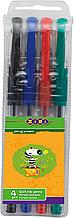 Набір із 4-х гелевих ручок