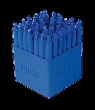 Ручка кулькова MINI P1 TOUCH, дисплей, уп. 40шт, синій