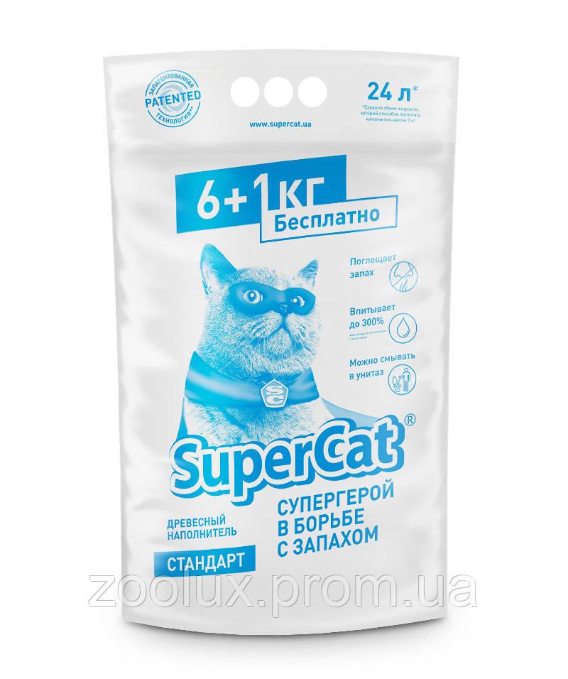 Наполнитель SuperCat стандарт, 7кг