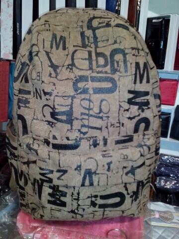 Рюкзак брезентовый коричневый