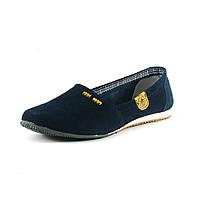 Мокасины женские QShoes 115068 синие