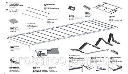 Крыша сдвижная BVP (7000-7569), фото 2