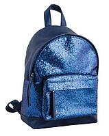 """Сумка-рюкзак """"1 Вересня"""" №553290, синий (32*23*11)"""