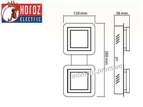 Светильник светодиодный потолочный 10W Likya-2 Horoz Electric, фото 2