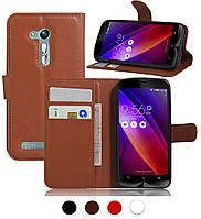 Чехол-бумажник для Asus Zenfone Go zb452kg