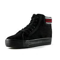 Ботинки зимние женские Prima D'arte YD006 черный