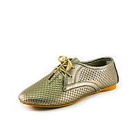 Туфли женские Allshoes 86539 бронза