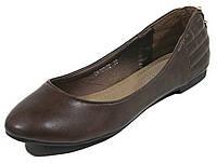 Балетки женские Vivien Q4-1010тв коричневый