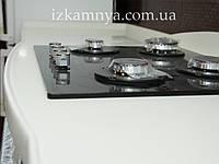 Кухня бело-краная КУ 001