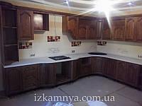 Кухня из дуба КУ 004