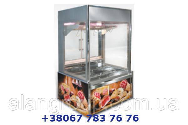Холодильна ВІТРИНА «МІССУРІ CRYSTAL» для ПРОДАЖУ М'ЯСНИХ ВИРОБІВ на гаках