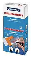 Маркер Centropen Permanent 2846 1 мм коричневый