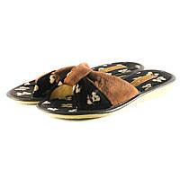 Тапочки комнатные женские Белста 867-3030С241209С8 Темно-коричневый
