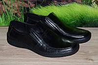 Туфли кожа прошиты кожа натуральная М18 качество Ecco размеры 40 41 42 43 44 45