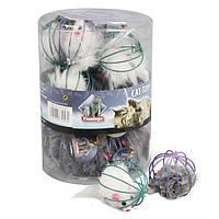 Игрушка Karlie-Flamingo Wire Ball With Mouse для кошек, 6 см