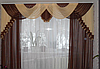 Ламбрекен со шторами в гостиную
