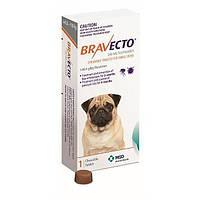 Бравекто (Bravecto) таблетка (жевательная) от блох и клещей для собак (4.5 - 10кг)  1таблетка