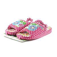 Тапочки комнатные детские Home Story 10564S розовый