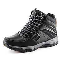 Ботинки зимние  мужские Restime PMZ 14452 черный