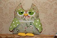 Декоративная подушка сова для пультов, фото 1