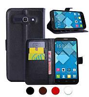 Чехол-бумажник для Alcatel One Touch 7047D POP C9