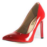 Туфли женские Foletti F-6 крл красный лак