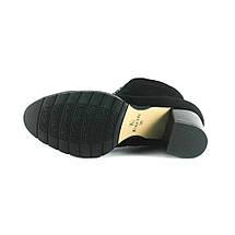 Ботинки демисез женск Foletti FL707 зш черная замша, фото 3
