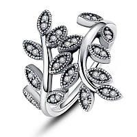 Кольцо из серебра и куб. цирконием