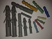 Дюбель пластиковый 6х30 потай уп (1000шт)