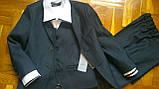 Класичний костюм, одяг для хлопчиків 140-164см, фото 2