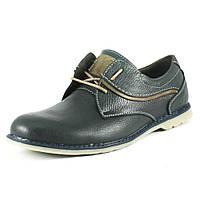 Туфли мужские GSL GSL1806 сине-оливковые