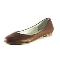 Балетки женские Ilona IL127 коричневые