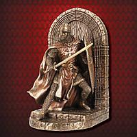 Коллекционная статуэтка - держатель для книг Veronese Рыцарь Мальтийский рыцарь WU76973A4