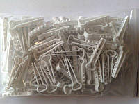Крепеж кабельный ёлочка плоская d 4 мм  (14-5мм) уп (100шт)