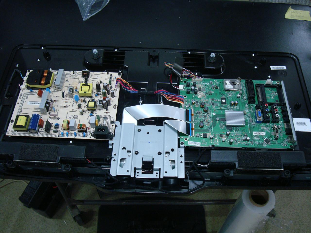 Телевизор philips 42PFL3606H по запчастям - разбита матрица (715G4609-M4B-000-005B, TDTK-G731D, 100FAPC2LVO)