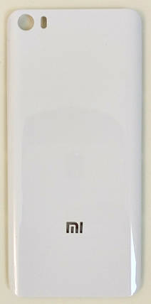 Задняя крышка Xiaomi Mi 5 Glossy White, сменная панель сяоми ксиоми, фото 2